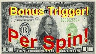 •10 GRAND PER SPIN• Bonus Trigger RNG Video Slot Machine NO Jackpot Handpay Aristocrat • SiX Slot -