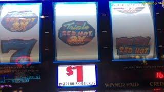 Handpay !! Triple Double Red Hot Big Win & Jackpot , Black Diamond @ Pechanga Resort & Casino