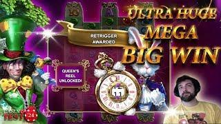 MUST SEE!!! ULTRA HUGE MEGA BIG WIN ON WHITE RABBIT SLOT (BTG) - 5€ BET!!!