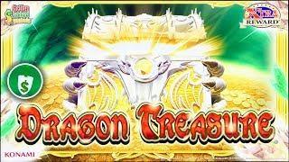Dragon Treasure slot machine, 2 sessions, bonus