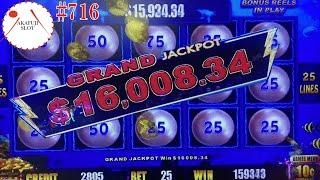 Review - Seven Seas Slot Machine & Grand Jackpot - Lightning Link @ San Manuel Casino, 赤富士スロット