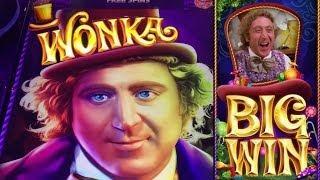 WONKA 3 REEL: MAX BET - WONKA FREE SPINS #1 - BIG WIN