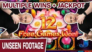 ★ Slots ★ What Can I Hit with $3,000 on Lotus Land? ★ Slots ★ MULTIPLE Wins + JACKPOT