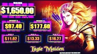 ++NEW Eagle Maiden slot machine, DBG