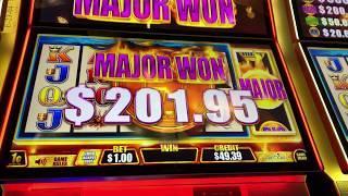 Major Progressive Win Fast Cash Buffalo Deluxe