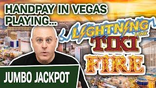 ⋆ Slots ⋆ Handpay Jackpot on LIGHTNING LINK: TIKI FIRE ⋆ Slots ⋆ HIGH-LIMIT Slot Machines in VEGAS