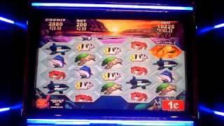Eleven Pearls a Konami game, slot machine bonus win at Parx