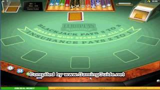 All Slots Casino's European Blackjack Gold Series