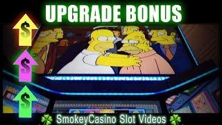 Quick The Simpsons Slot Machine Upgrade Bonus • WMS