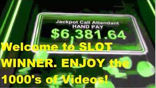 Welcome to the Channel, SLOT WINNER