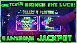 ★ Slots ★Lock It Link Cats, Hats & More Bats HANDPAY JACKPOT ★ Slots ★$25 MAX BET BONUS ROUNDS EPIC