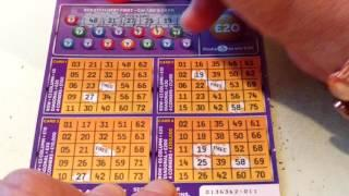 "Battle of the BINGO""s..Pink BINGO & Purple BINGO with Bonus Scratchcard Game..& Piggy"