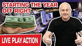 ⋆ Slots ⋆ LIVE HIGH-LIMIT SLOTS at Cosmo! ⋆ Slots ⋆ Starting the Year Off Right… With BIG BOOMS?