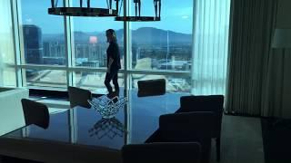 Trump Hotel Las Vegas 3 bedroom penthouse suite behind the scenes tour