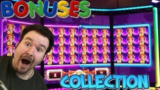 A Collection of Slot Machine Bonus Rounds and Huge Wins Vol. 21