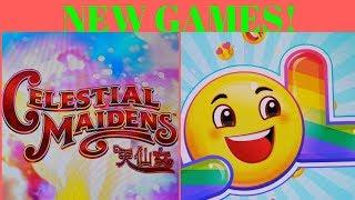 NEW GAME! FIRST LOOK! •CELESTIAL MAIDENS• • LOL EMOJI •