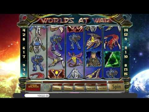 Free Worlds at War slot machine by Saucify gameplay ★ SlotsUp