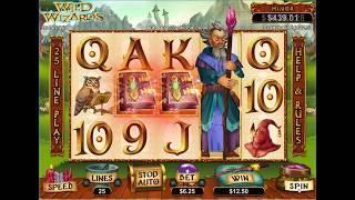 Wild Wizards Huge WIN (SlotoCASH Online Casino)