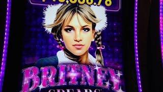 Britney Spears Slot -Live Play and Bonus -Aristocrat