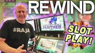 • Never Seen on YouTube! • Rewind High Limit Slot Play •️ Prowling Panther | The Big Jackpot