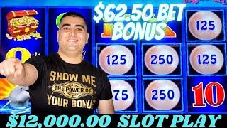 Let's Gamble $12,000 On High Limit Buffalo Gold, Mighty Cash, Lightning Link & New Slots - LAS VEGAS