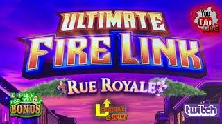 • ULTIMATE FIRE LINK RUE ROYALE • U-CHOOSE & WIN • FAST PASS ACTIVATED