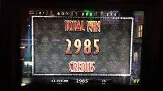 Black Widow Bonus Round at $75/pull at the Lodge Casino