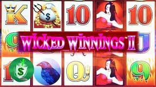 Wicked Winnings II 95% payback slot machine