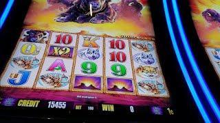 Buffalo gold slot bonus and outback Jack jackpot features and some *big win bonuses*