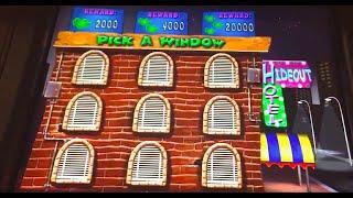 "BIG MONEY CHEESE CAPER Slot Machine Bonus ""Find the Gang"" (Max Bet!)"