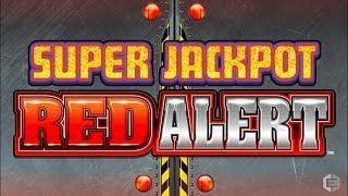 Super Jackpot Red Alert Slot - FUN SESSION, ALL FEATURES!