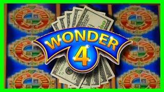 BIG WIN! I GOT THE TOWER BONUS! BIG WINS on Wonder 4 Slot Machine Bonuses With SDGuy1234!