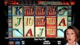 Jolly Roger High Limit Progressive Slot Play