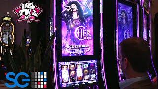 Cher Live Slot Machine from Scientific Games •