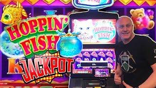 •Hoppin' Fish Handpay! •10 Free Games BONU$! •| The Big Jackpot