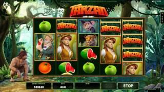 Tarzan Slot Features and Game Play - by Microgaming