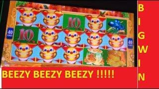BITE ME BEEZY!!! BIG WINS!!! LUCKY HONEYCOMB TWIN FEVER SLOT!!!