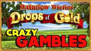 GAMBLING BIG ON A THURSDAY! • Rainbow Riches DROPS of GOLD !!!