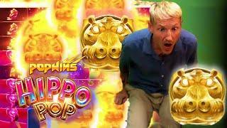 ⋆ Slots ⋆ HIPPO POP HUGE BIG WIN - CASINODADDY'S INSANE BIG WIN ON HIPPO POP SLOT ⋆ Slots ⋆
