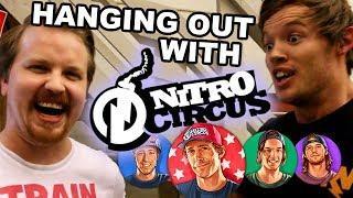 NITRO CIRCUS meet, greet and SLOTS | Vlog 31 - 2018