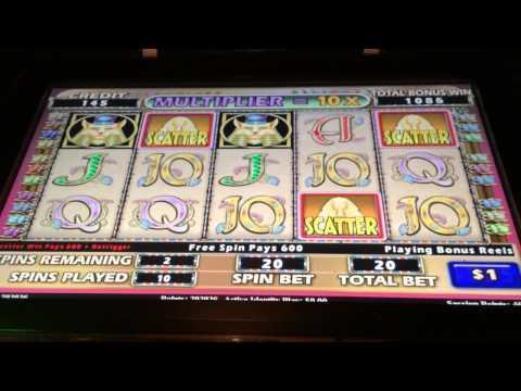 Cleopatra 2 BIG HANDPAY jackpot high limit slots bonus