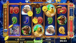 Money Farm slot - 206 win!