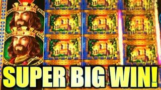 IN SEARCH OF KINGS, KNIGHTS, AND A #1 BONUS!? ★ Slots ★ SUPER BIG WIN! KING & THE SWORD Slot Machine