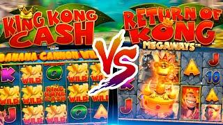 King Kong Cash vs Return Of Kong! Bonuses & Features
