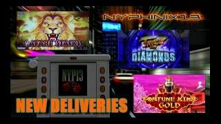 •NEW DELIVERIES• King Fortune Gold •Twice the Diamonds • Safari Stacks Slot Line Hits & Bonus WINS