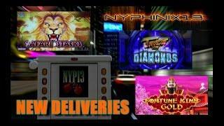 •NEW DELIVERIES• King Fortune Gold •Twice the Diamonds • Safari Stacks Slot Line Hits & Bonus WINS
