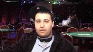 LAPT Vina Del Mar 09 Donald Boivin on getting staked Pokerstars.com