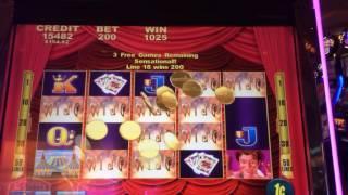 TOUCH of MAGIC ~ slot machine bonus ~ free games