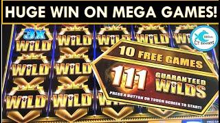 I CHASED AND GOT A HUGE WIN ON MEGA GAMES - ROYAL RICHES SLOT MACHINE! I LOVE VEGAS!!!