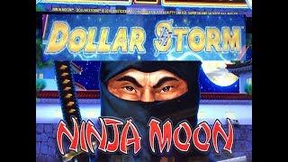 •SUPER BIG WIN ! NEW GAME !•NINJA MOON  (New Style of Lightning Link) (DOLLAR STORM) Slot Live Play